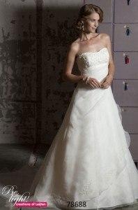 Bruidsjurk Creations of Leijten, Maatje meer trouwjurk, grote maat trouwjurk, bruidsmode maatje meer, volslanke bruid