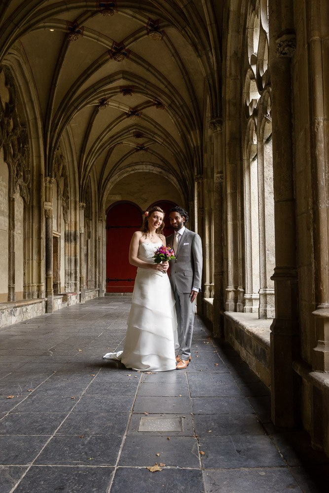 Echte bruid Andrea