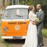 Trouwen met VW bus
