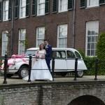 echte bruid kantentrouwjurk van kant