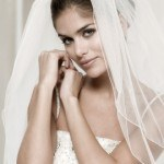 bruidsaccessoires, sluier poirier, bruid