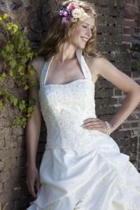 Grote maat trouwjurk, Maatje meer trouwjurk, grote maat trouwjurk, bruidsmode maatje meer, volslanke bruid
