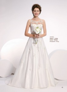 Amelie trouwjurk met kant
