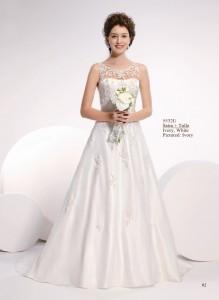 Amelie trouwjurk met kant, merk trouwjurken
