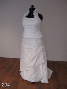 Moderne trouwjurk Creations of Leijten maat 48 50 52