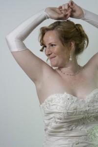 Maatje meer trouwjurk, grote maat trouwjurk, bruidsmode maatje meer, volslanke bruid