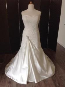 PC3316, Kanten trouwjurken, trouwjurken met kant, Kanten bruidsjurken, bruidsjurken met kant