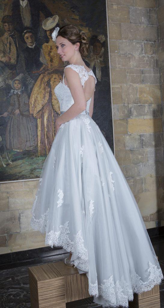 Bridalstar, kort voor lang achter trouwjurk
