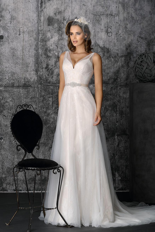 jurk taft zijde