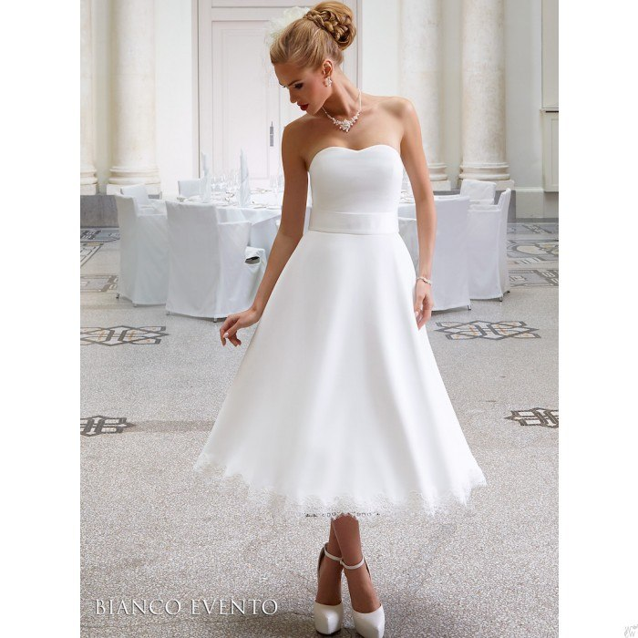 Korte trouwjurken, korte bruidsjurk