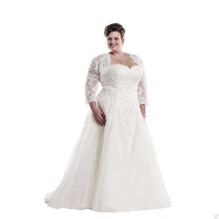 plussize bruid
