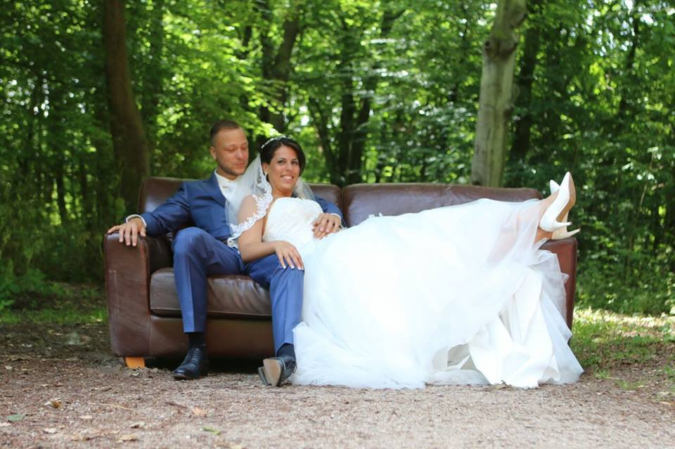 Onze bruid Bianca op Slot Assumburg te Heemskerk