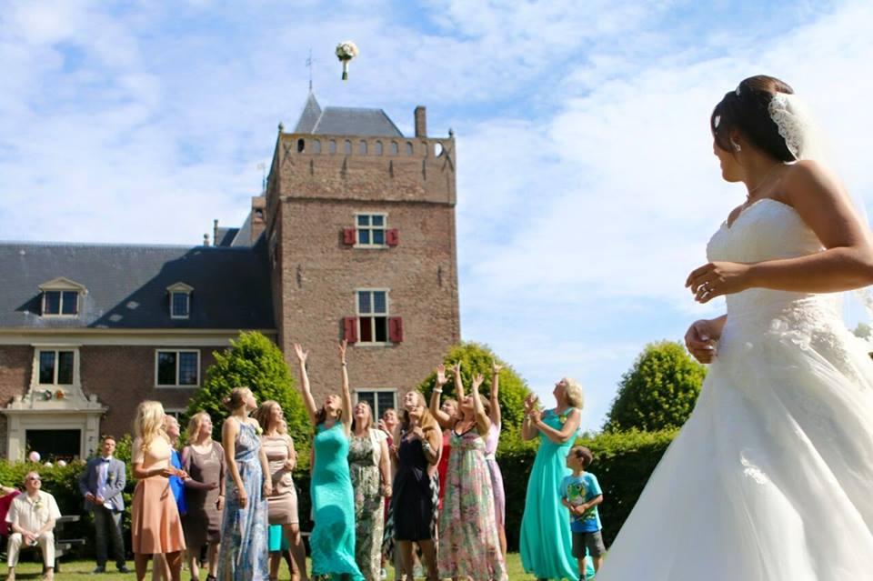 Touwen in een kasteel, Onze bruid Bianca op Slot Assumburg te Heemskerk