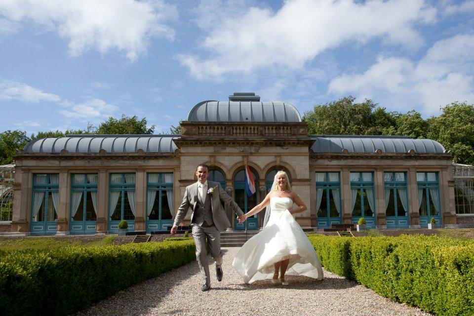 Onze bruid Marcella trouwde op Orangerie Elswout
