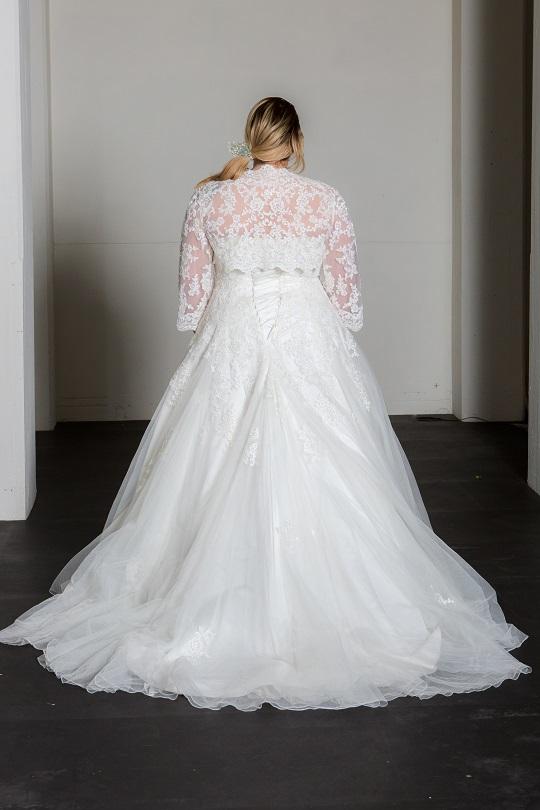 Bridalstar, grote maat trouwjurk