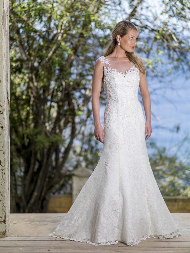 kanten trouwjurk, Boho bruid, bruidsmode mariska