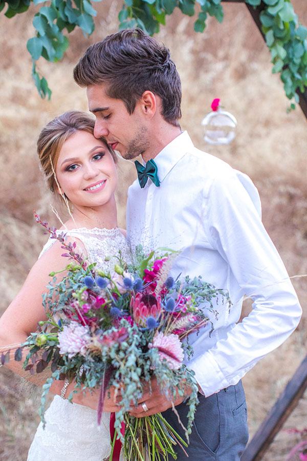 Boho Chic huwelijk, Boho bruid, bruidsmode mariska