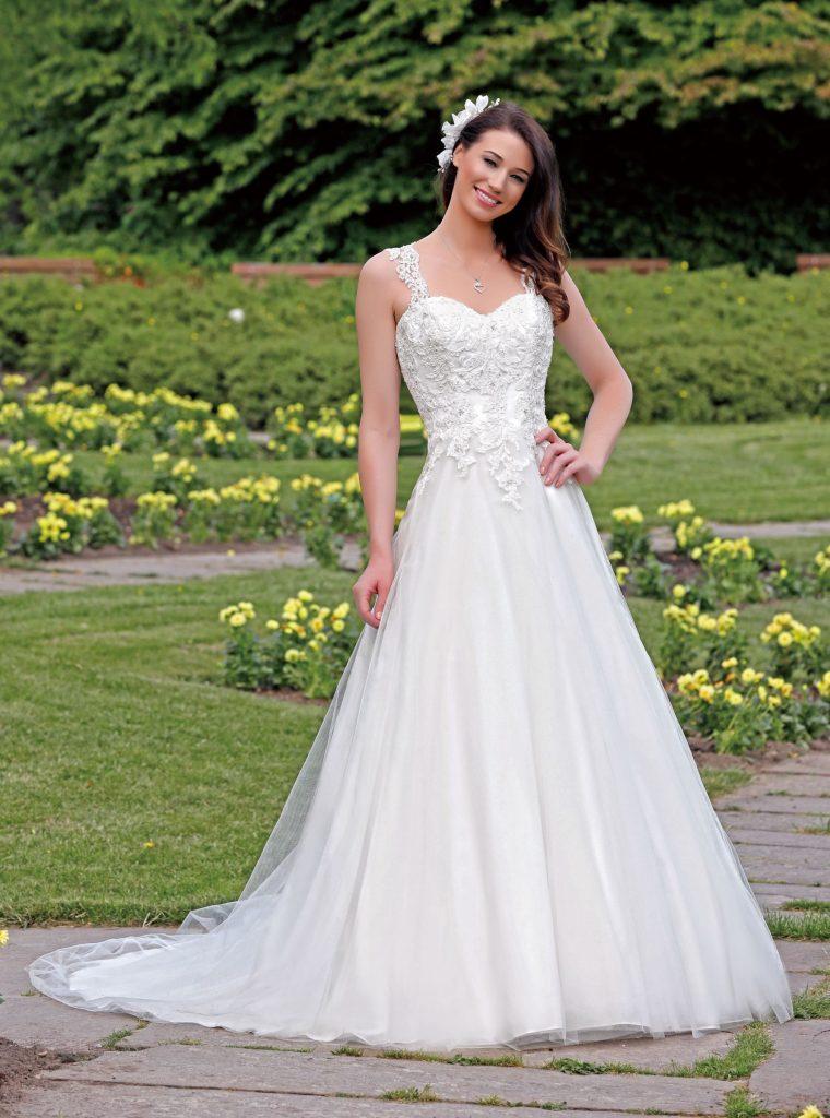 Amelie klassieke bruidsjurk
