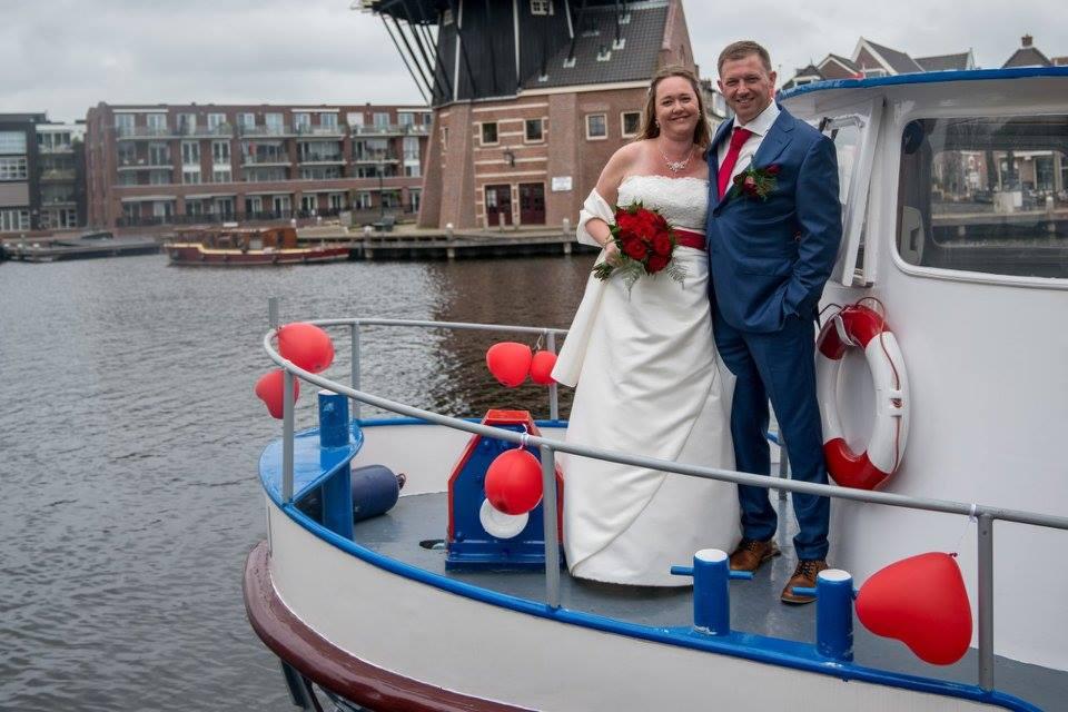Trouwen op een boot noord holland