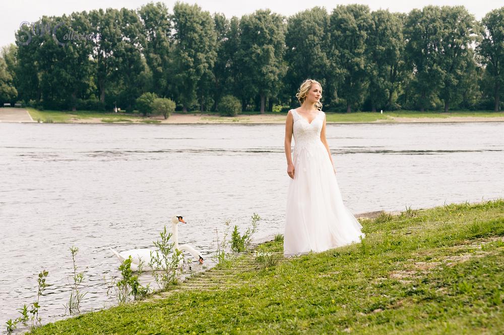 boho bohemian trouwjurk
