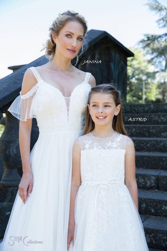 boho bruidsjurk en bruidsmeisje heerhugowaard