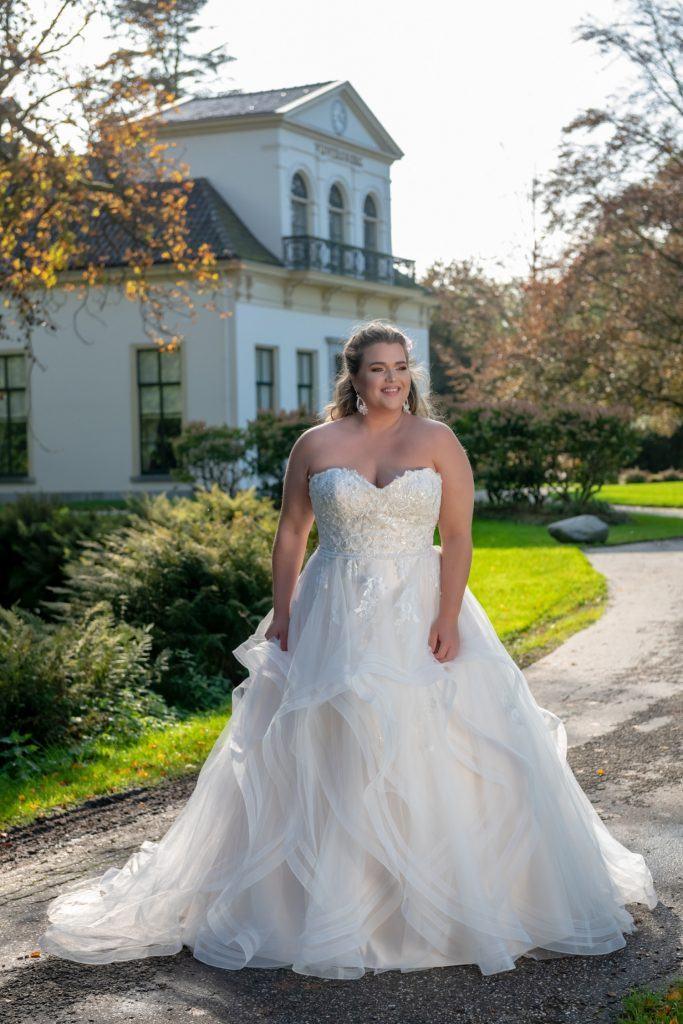 Plussize bruidsmode