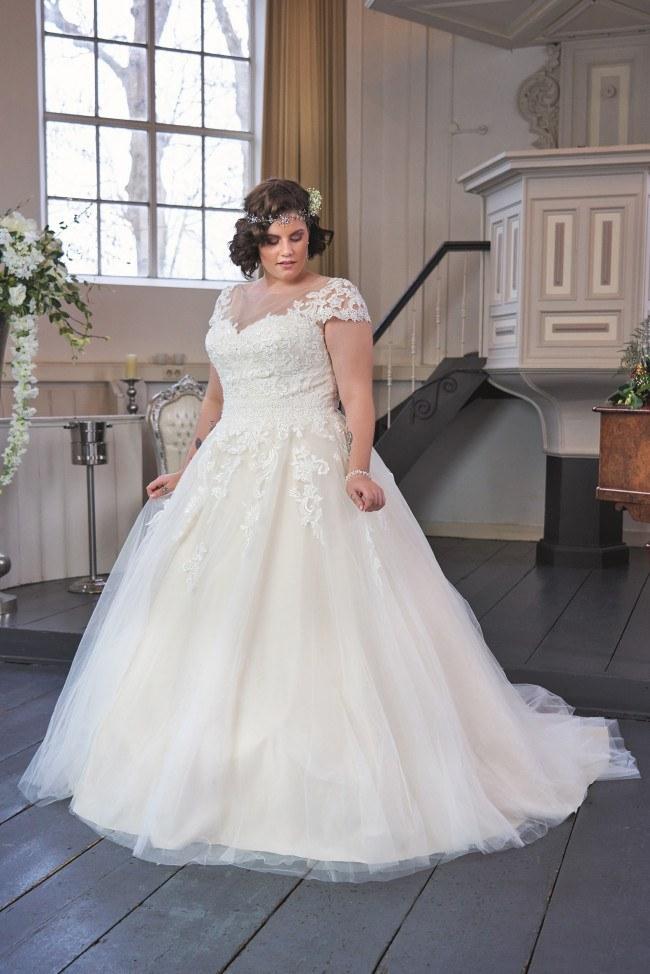 Plussize bruidsmode Heemskerk